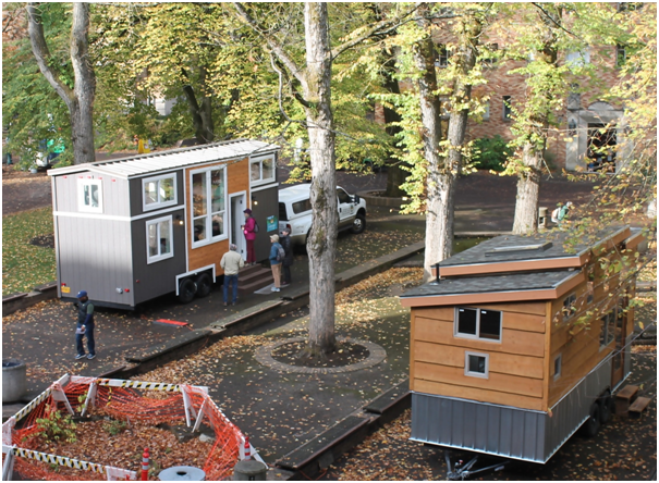 mobile tiny homes are gaining popularity